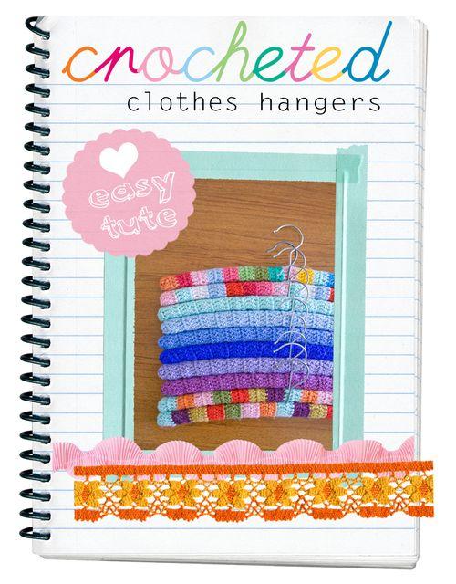 Crochet hangers tute